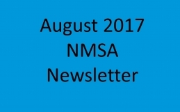 NMSA August 2017 Newsletter | Volume 1 Issue 1